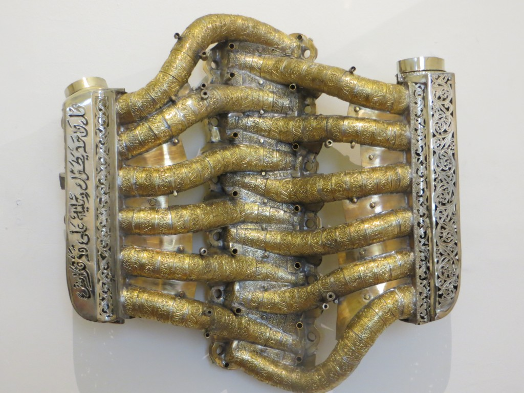 Untitled (Intake manifold with intake pipes), 2013