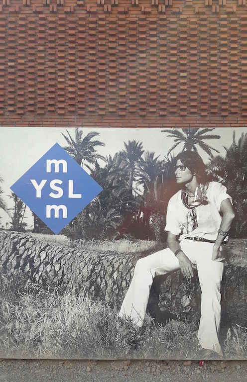 Yves Saint Laurent Museum in Marrakech is under construction