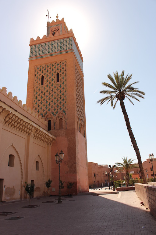 Kasbah Mosque in Marrakech