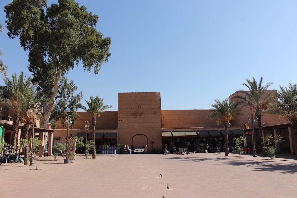 Place des Ferblantiers in the Mellah of Marrakech