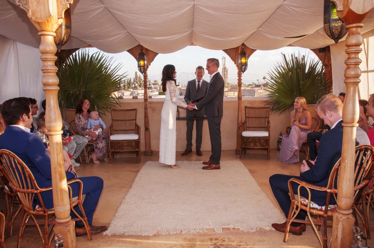 Destination wedding Marrakech Riad 72