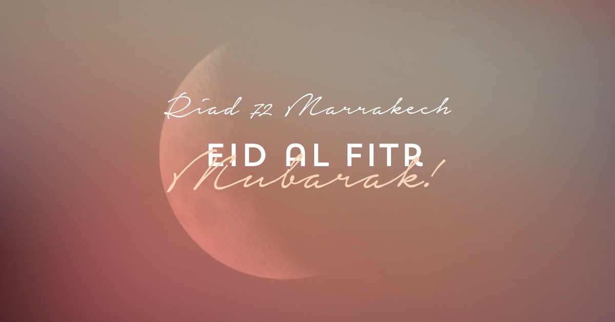 Eid Mubarak message from Riad 72