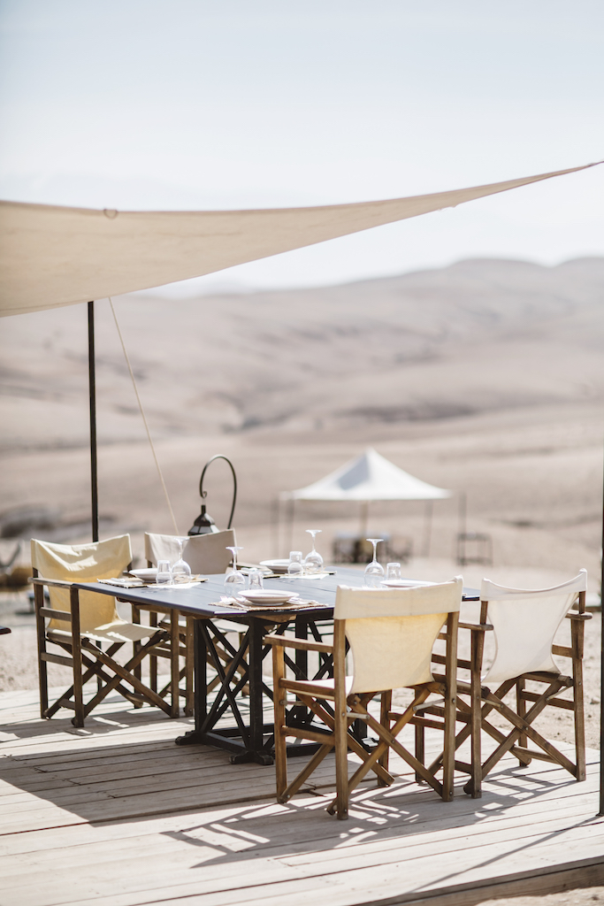 Scarabeo Camp in the Agafay Desert near Marrakech