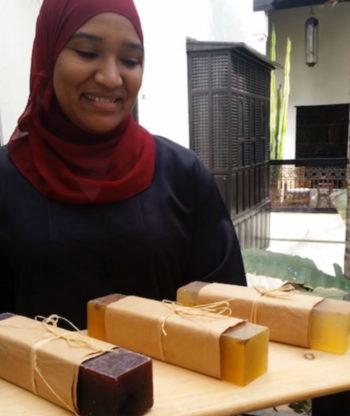 100% organic soap bar